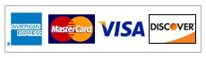 Pay Online With AE, MC, Visa, Discover